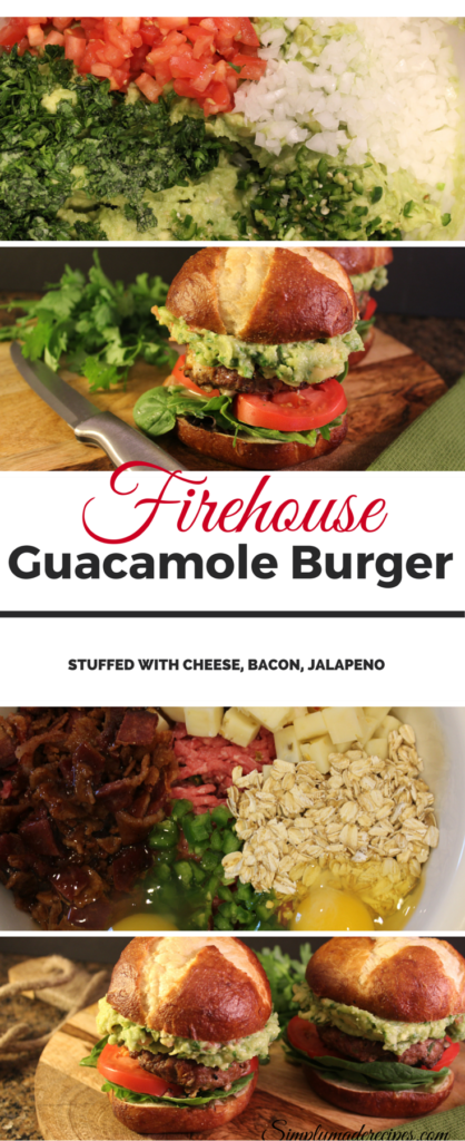 Firehouse guacamole burger 2