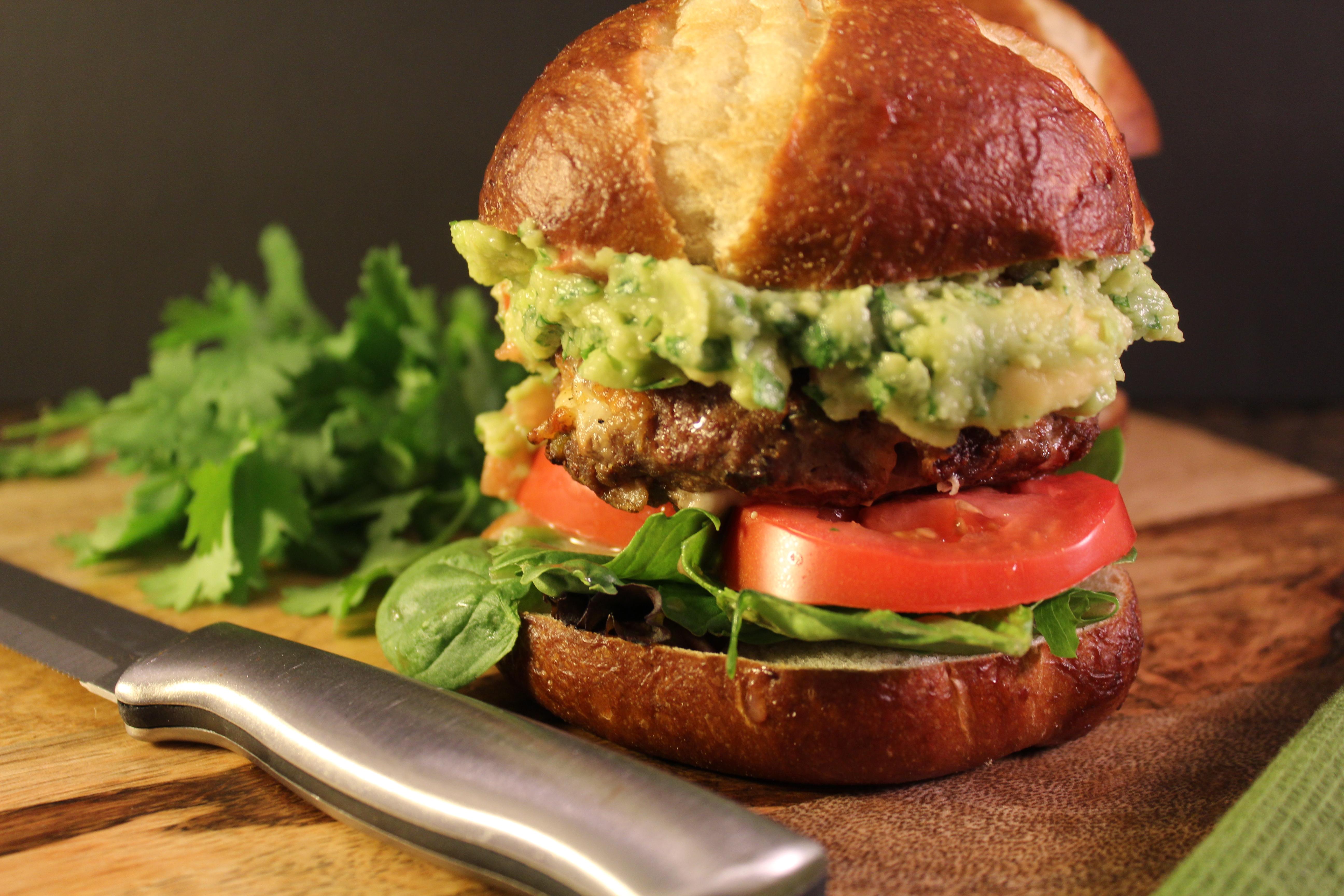 Firehouse Guacamole Burger