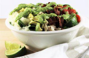 Chicken BLTA Salad