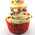 Cake Batter Frosting Funfetti Cupcakes