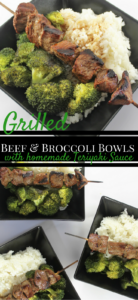 Grilled Beef &Broccoli