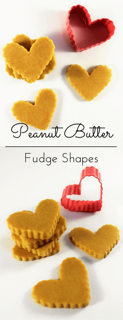 Peanut Butter Fudge Shapes