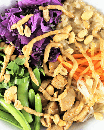 Thai Inspired Buddha Bowl {+ Round Up}