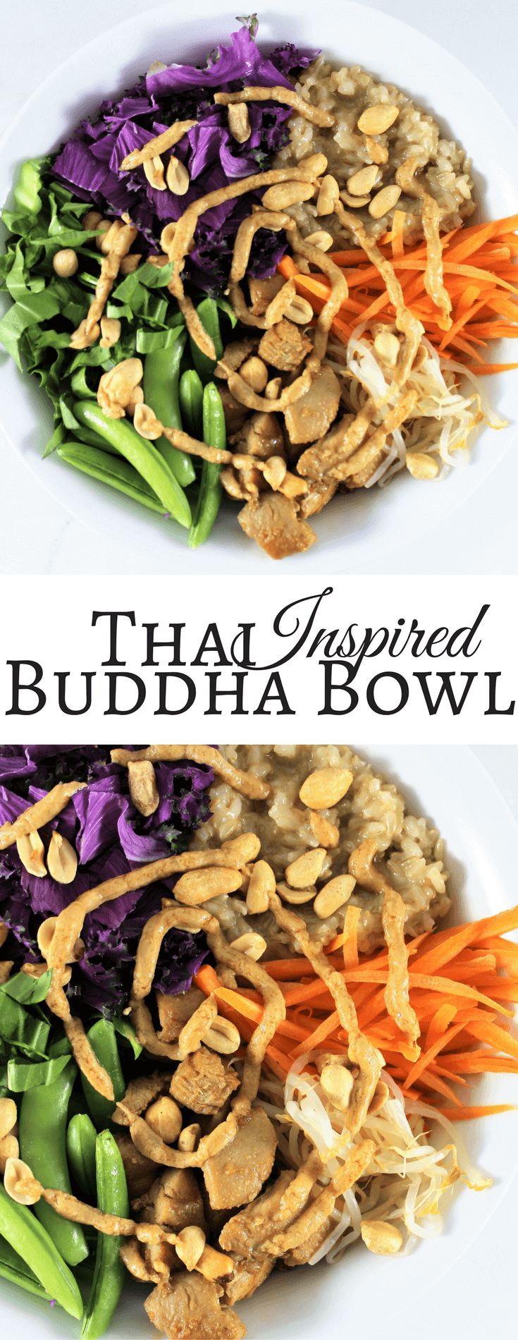 Thai Inspired Buddha Bowl {+ Round Up}