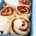 Monster Strawberry Cinnamon Rolls