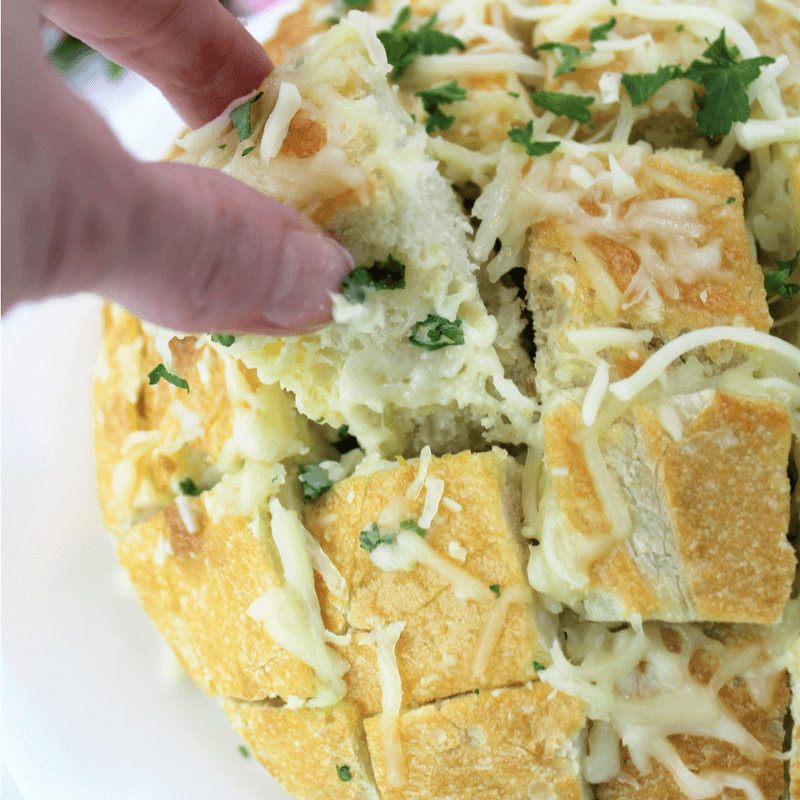 Date Night with Bertolli® {+ Cheesy Garlic Pull Apart Bread Recipe}, #mangiatonight, #ad, cheesy bread, pasta