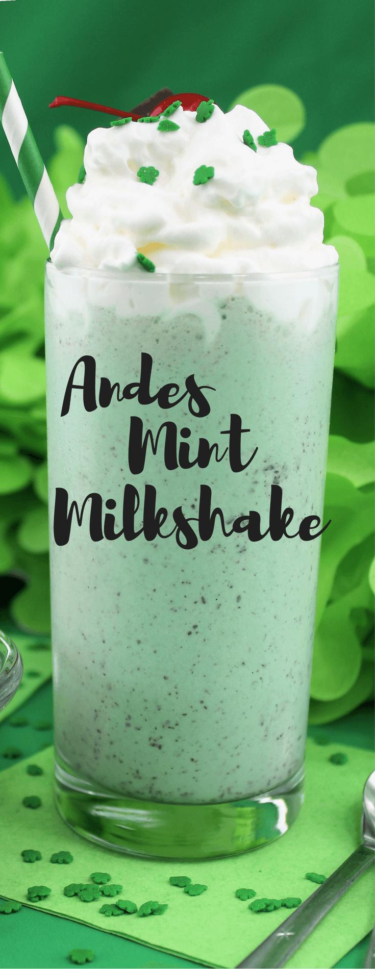 Andes Mint Milkshake