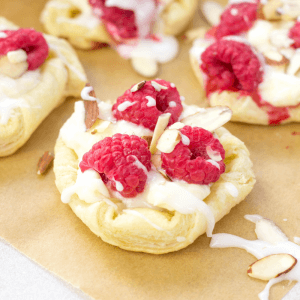 Raspberry Danish, brunch recipes, easy danish, quick pastry, cream cheese danish, cream cheese pastry