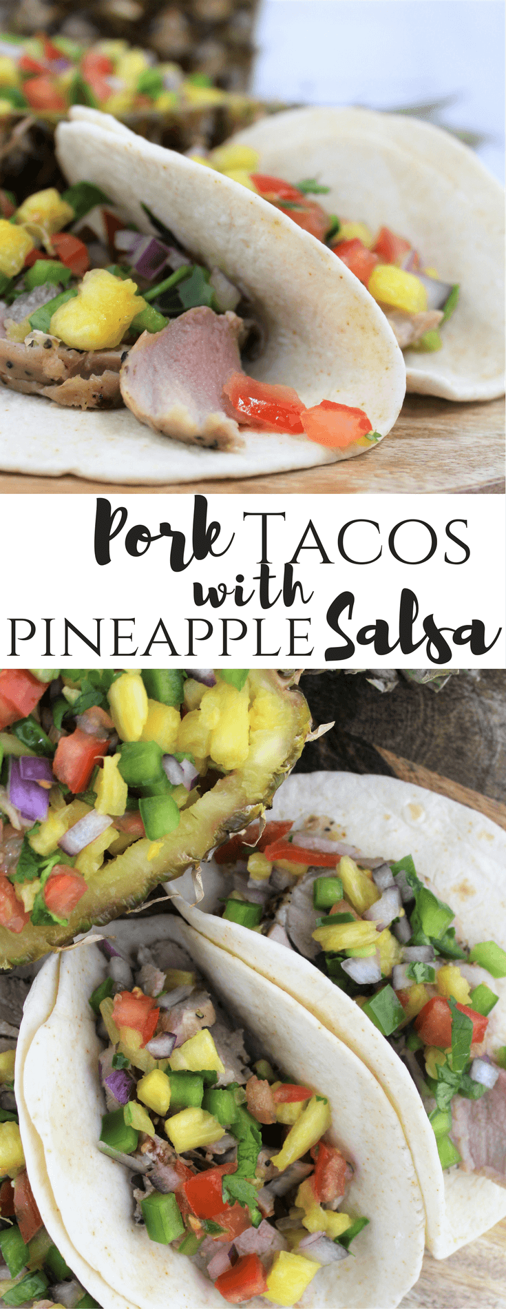 RealFlavorRealFast Pork, #ad, Tacos with Pineapple Salsa