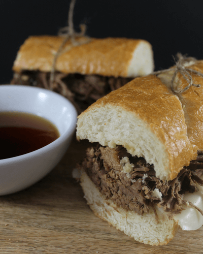 french dips, summer slow cooker recipes