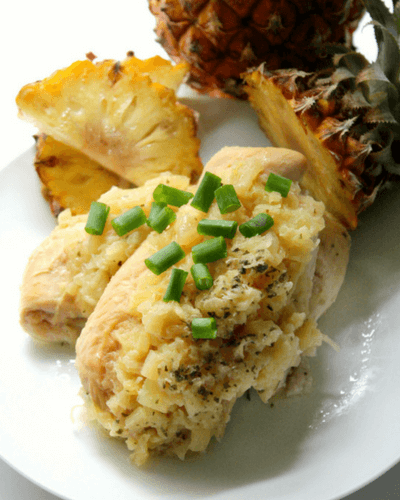 slow cooker macadamia pineapple chicken, summer slow cooker recipes