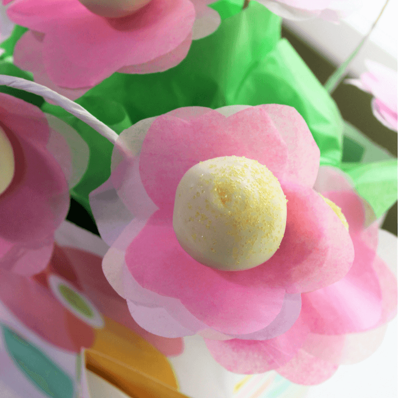 Strawberry Cake Pops, How to Make a Cake Pop Bouquet, #MoreThanAMom, #CollectiveBias, ad