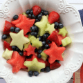 Fruit Salad with Lemon Maple Dressing