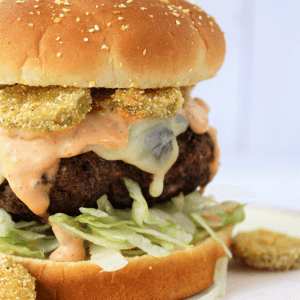 The Fried Pickle Burger