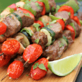 Msg 4 21+, #SummertimeCerveza, #CollectiveBias, #ad, Grilled Chicken and Steak Kabobs, beer marinated kabobs, modelo marinated kabobs
