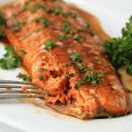 Sweet 'N' Spicy Baked Salmon