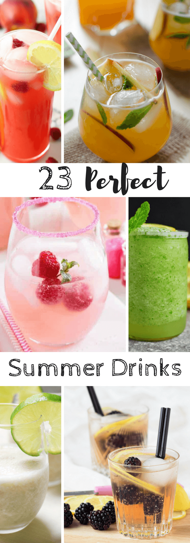 Summer drinks non-alcoholic
