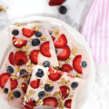 #ad, #HorizonLunch, #CollectiveBias, frozen yogurt, yogurt bark, fruit, snack, kid friendly recipe, breakfast