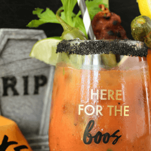 Bloody Mary : Halloween Edition Cocktail