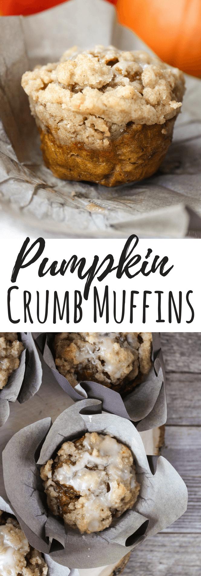 Pumpkin Crumb Muffins, pumpkin muffins, fall recipe, #fallrecipe #pumpkin