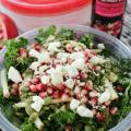 Pomegranate Kale Salad, Wet Ones, Fruit Vinegar, Organic Herbs, #ad, #InstantMealsBx #WishIHadAWetOnes , BabbleBoxx