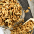 Cinnamon Apple Granola, Simply Made Recipes, Autumn recipe, #granola