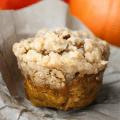 Pumpkin Crumb Muffins, pumpkin muffins, fall recipe, #fallrecipe