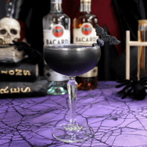 Black As Your Soul : Halloween Cocktail