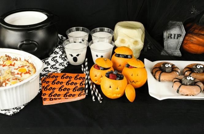 Halloween Breakfast Casserole