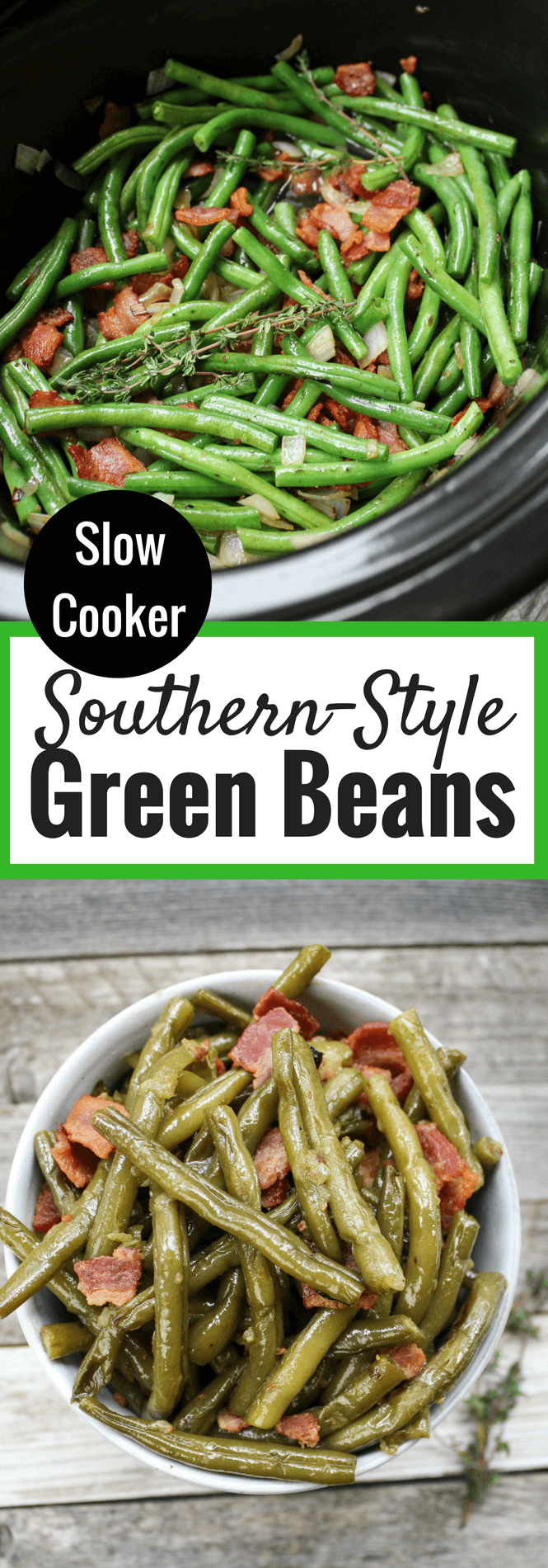 Crockpot Southern-Style Green Beans