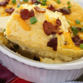 Cheesy Mashed Potato Casserole, side dishes, holiday recipes
