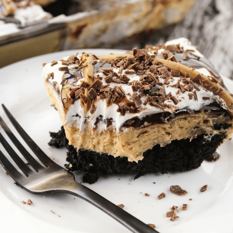 Peanut Butter and Chocolate Layered Dessert