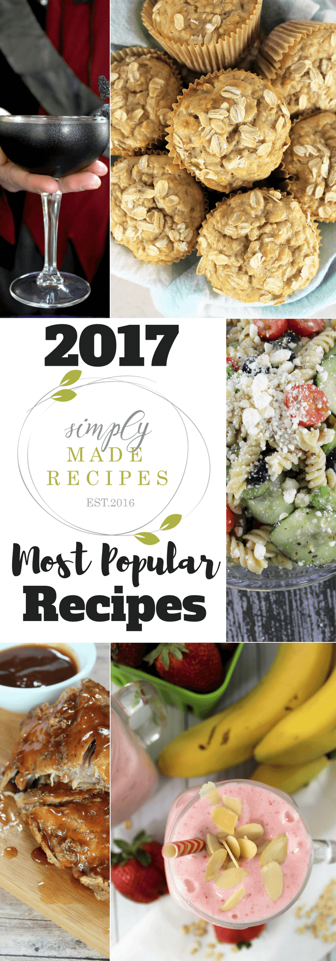As the year comes to a close, we are sharing Simply Made Recipes Most Popular of 2017! Here are the 10 recipes that people just couldn't get enough of.