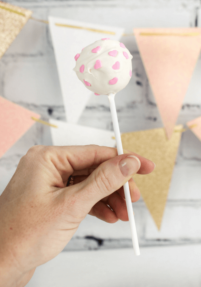 Valentine's Day 7UP® Cake Pops, #ad, #JustAdd7UP, @Walmart, family recipes, dessert, Valentine's Day recipe, cake pop