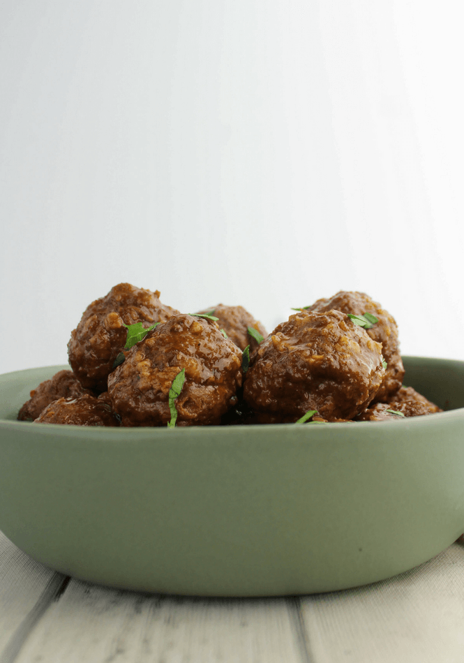 Cherry Cola Jalapeno Meatballs