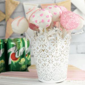 Valentine's Day 7UP® Cake Pops