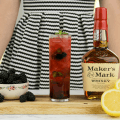 #ad Blackberry Mint Julep, Kentucky cocktail, whisky, bourbon, #CelebratorySips #MintJulepMonth #CollectiveBias , Maker's Mark®