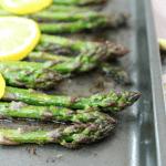 Roasted Lemon Asparagus, how to bake asparagus