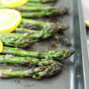 Roasted Lemon Asparagus, how to bake asparagus