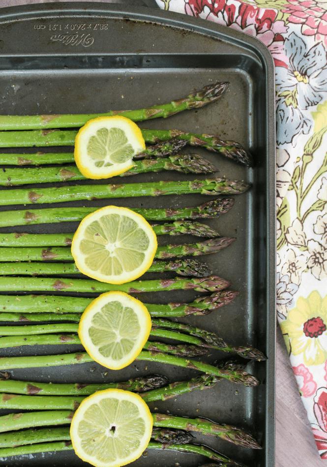 how to store fresh cut asparagus