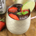 Msg 4 21+, #ad, Strawberry Lime Moscow Mule, Summer cocktail, #CelebratorySips #HenrysSparklingSips #HenrysHardSparkling #CollectiveBias