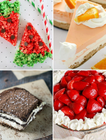 20 Crazy Delicious No Bake Summer Desserts, summer recipes, no bake desserts