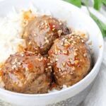 Asian Meatballs, meatball recipe, family friendly dinner idea, how to make meatballs
