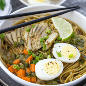 Spicy Ramen Noodle Soup