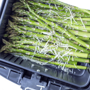 Air Fryer Garlic Parmesan Asparagus