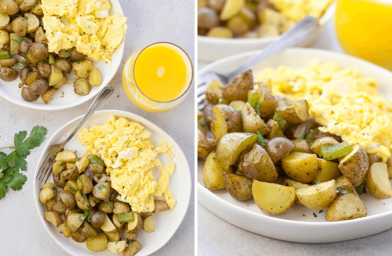 Air Fryer Breakfast Potatoes , air fryer recipes, how to cook potatoes in the air fryer, breakfast potatoes,