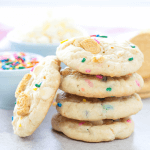 OREO Funfetti Cookies, OREO recipes, OREO dessert, sprinkle cookies, oreo cookies, birthday cookies