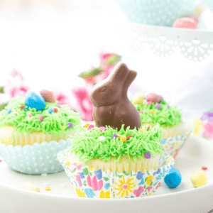Easter Bunny Cupcakes, easter recipes, easter dessert, bunny cake, simple cupcakes, holiday dessert, cute easter ideas, easter recipe