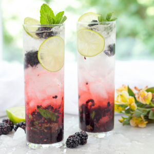 Blackberry Mojito, summer cocktail, blacberry cocktail, how to make a mojito, rum cocktail