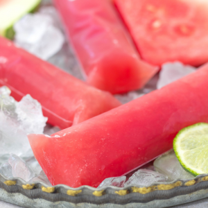 Watermelon Ice Pops, summer popsicles, watermelon popsicles, fresh fruit ice pops, popsicles with fresh fruit, summer dessert, watermelon recipe